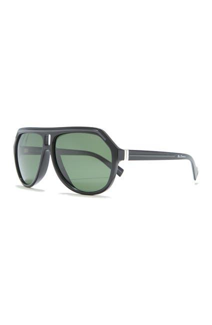 Image of Ben Sherman Ben 60mm Aviator Sunglasses