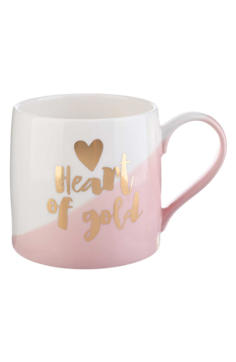 SLANT COLLECTIONS Heart of Gold Mug, Main, color, 650