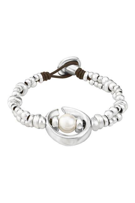 Image of Uno De 50 Half Moon Bracelet