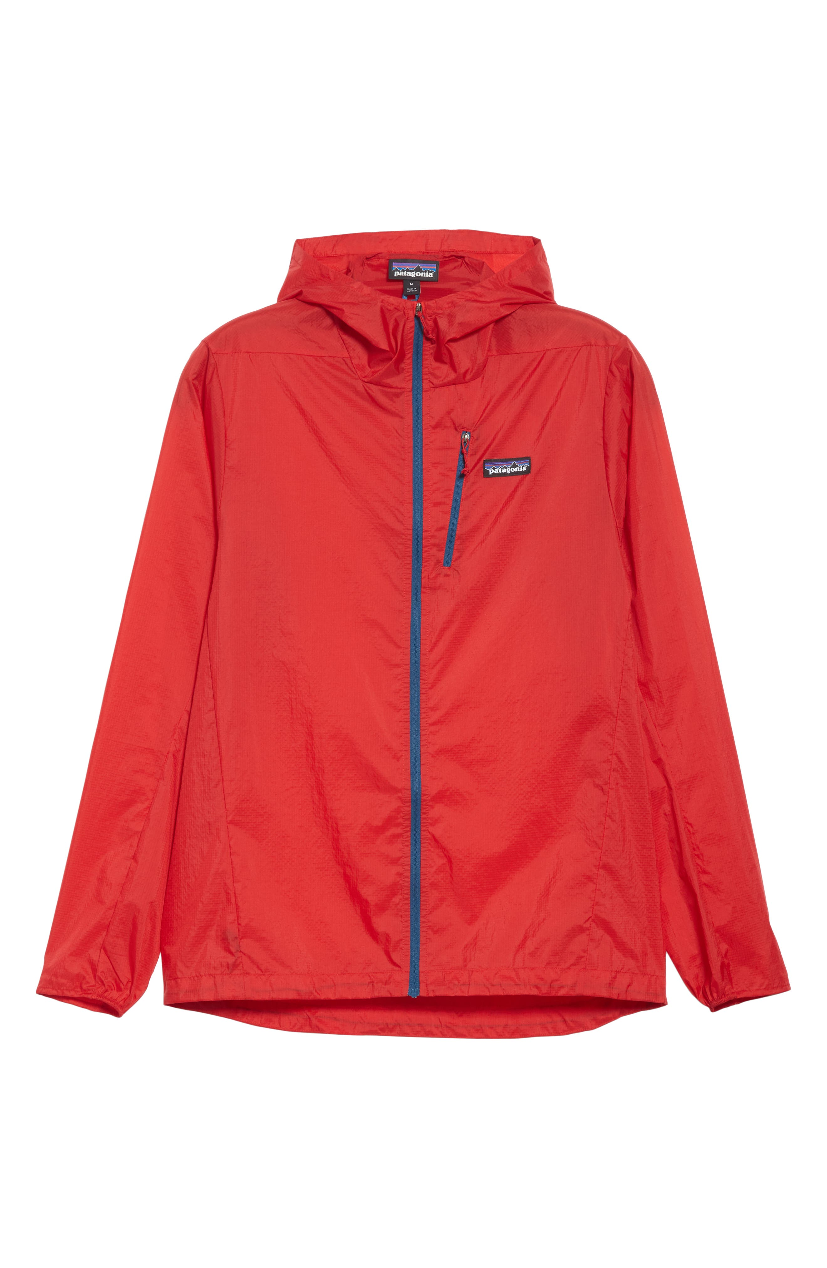 Patagonia Houdini Water Repellent Hooded Jacket, Red
