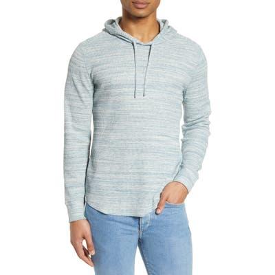 Vince Regular Fit Hooded Sweatshirt, Blue