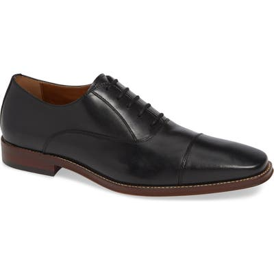 Nordstrom Shop Bryan Cap Toe Oxford, Black