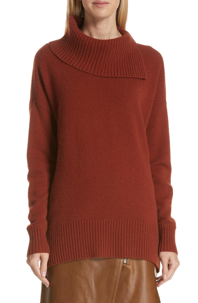 NORDSTROM SIGNATURE Cashmere Pullover, Main, color, 210