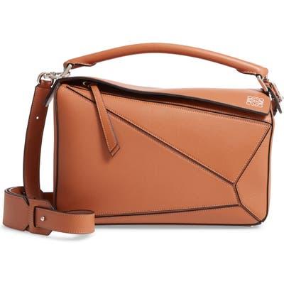 Loewe Puzzle Medium Bag - Beige
