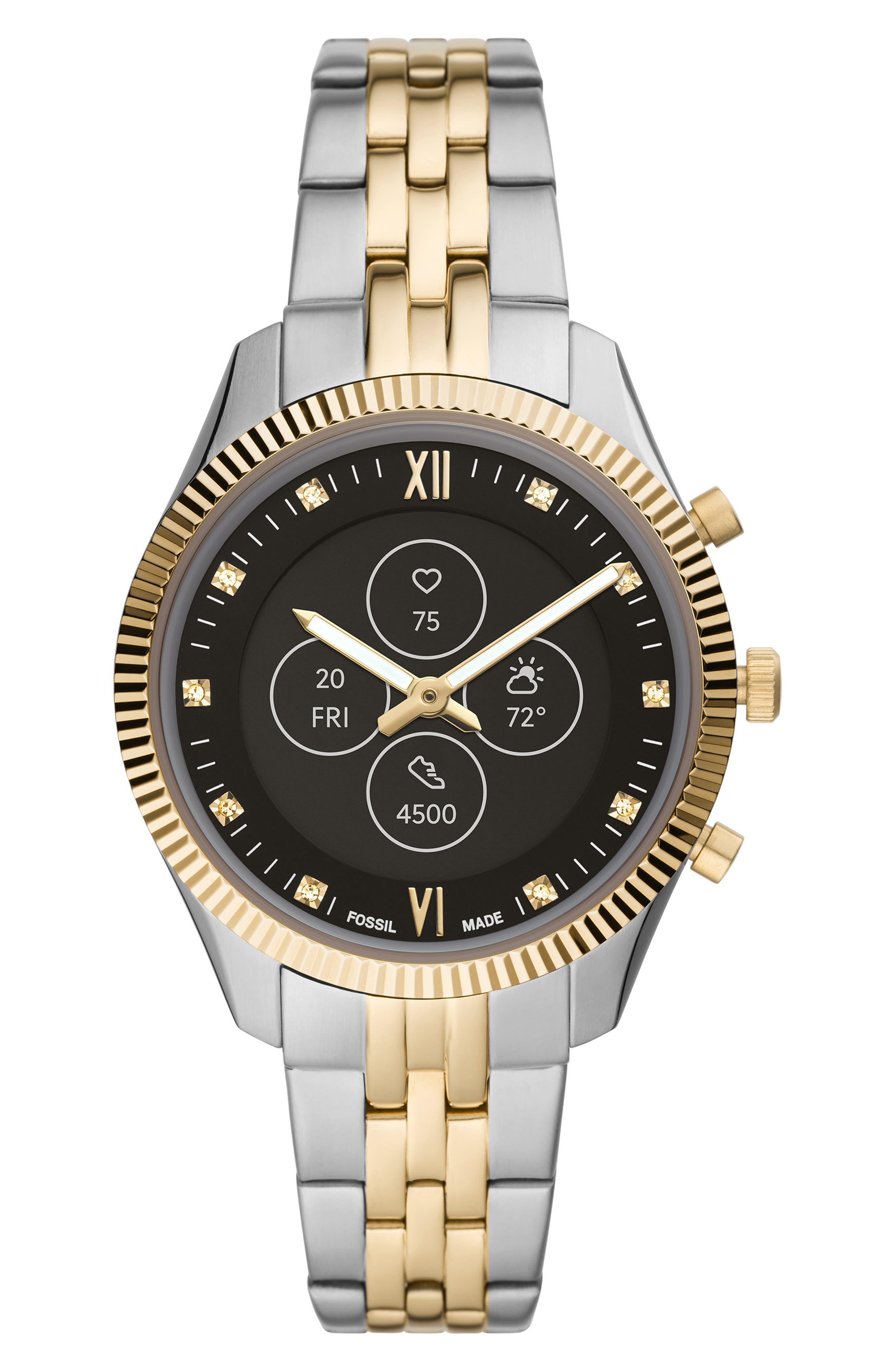 Scarlette Hybrid Bracelet Watch