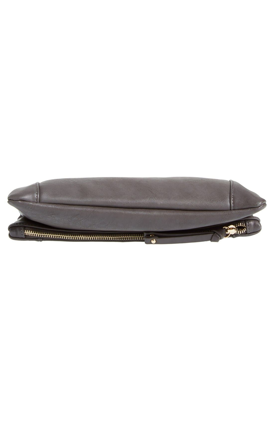 ,                             Marlena Faux Leather Foldover Clutch,                             Alternate thumbnail 26, color,                             020