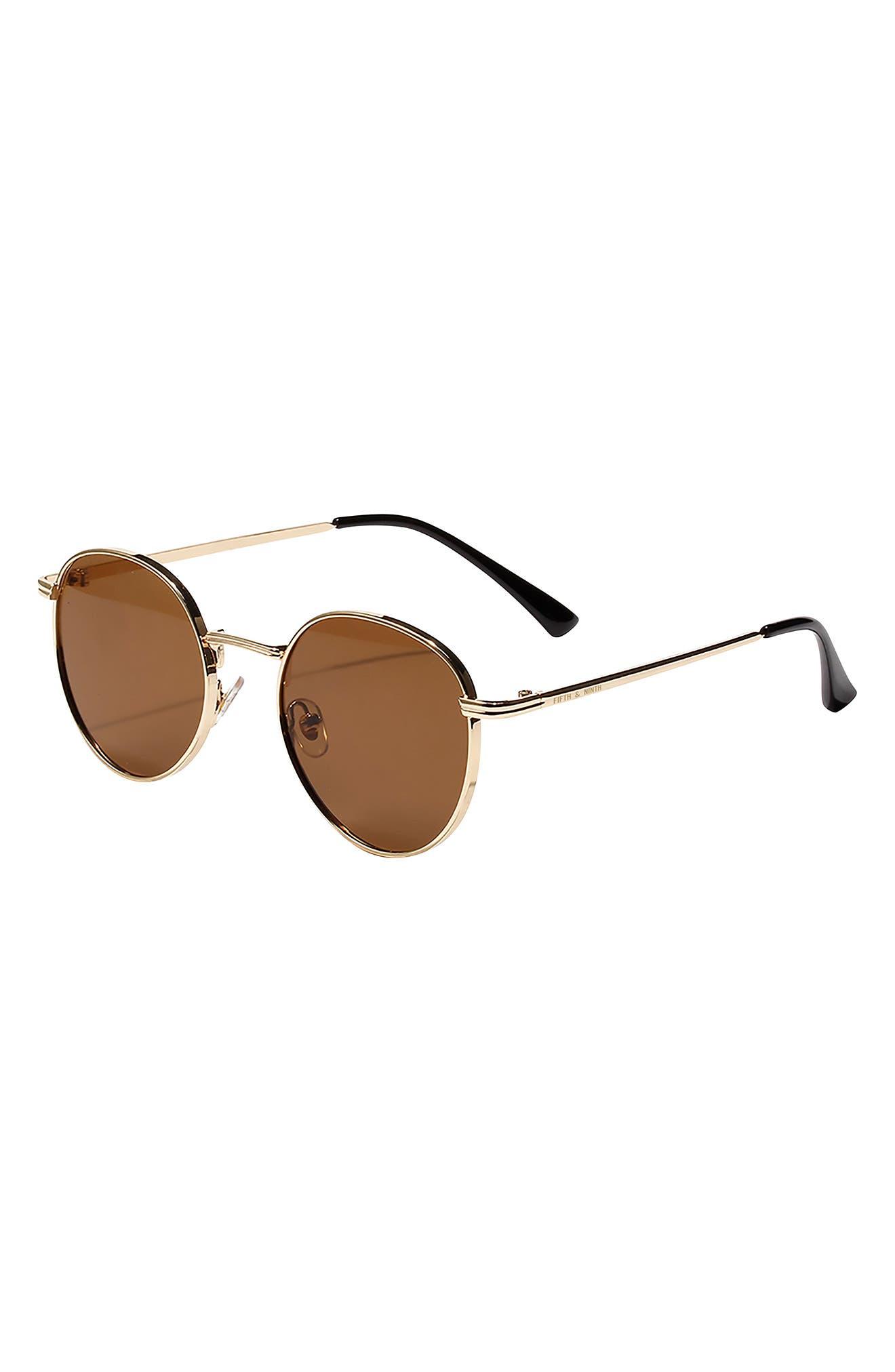 Jackson 50mm Round Sunglasses