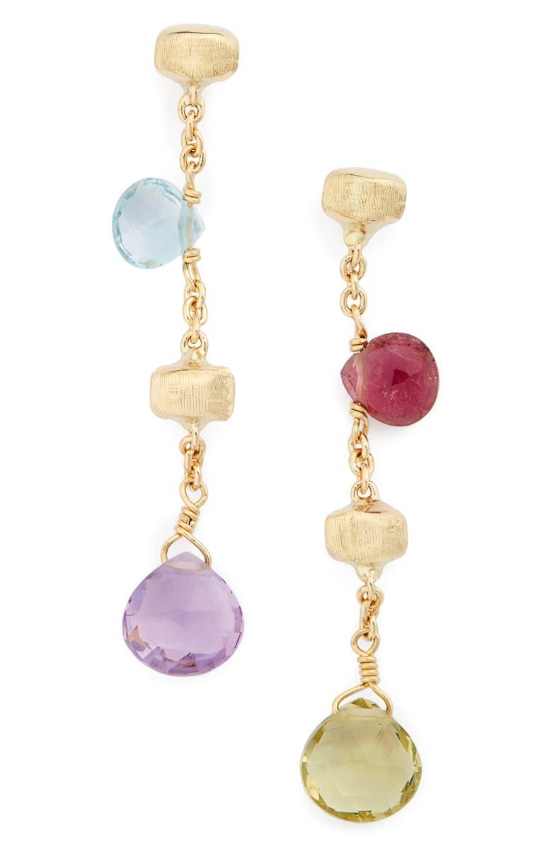MARCO BICEGO 'Paradise' Drop Earrings, Main, color, MULTI