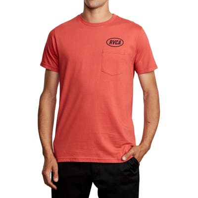 Rvca Labour Logo Pocket T-Shirt