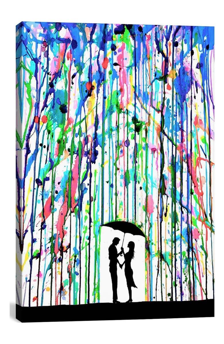 ICANVAS 'Pour Deux - Marc Allante' Giclée Print Canvas Art, Main, color, 100
