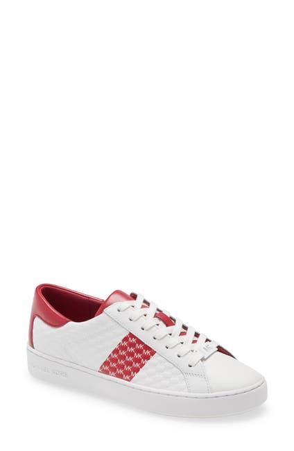 Image of MICHAEL Michael Kors Colby Logo Embossed Sneaker