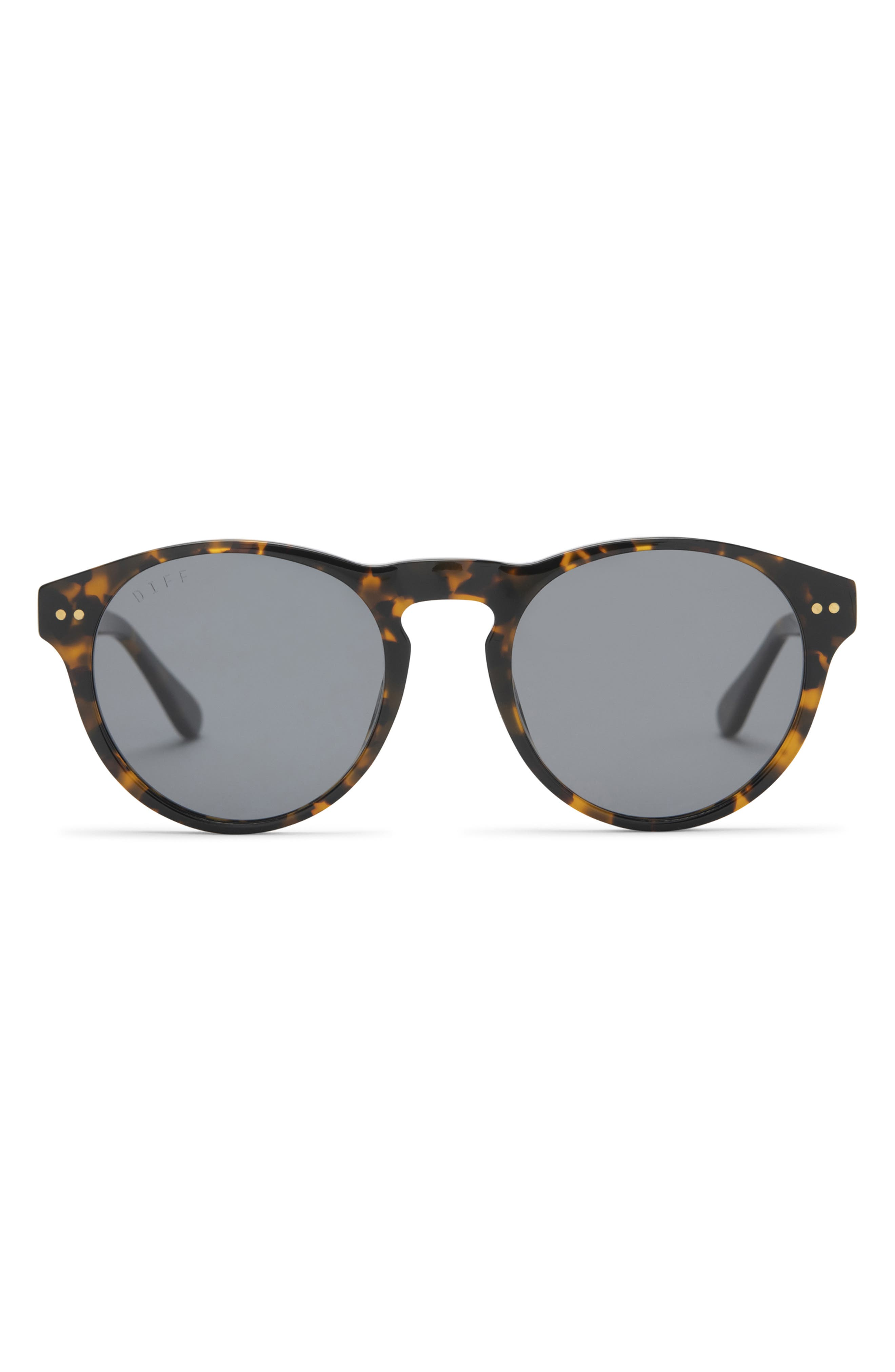 Cody 50mm Polarized Round Sunglasses