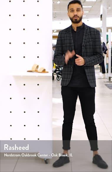 Vegan Woven Strap Sandal, sales video thumbnail