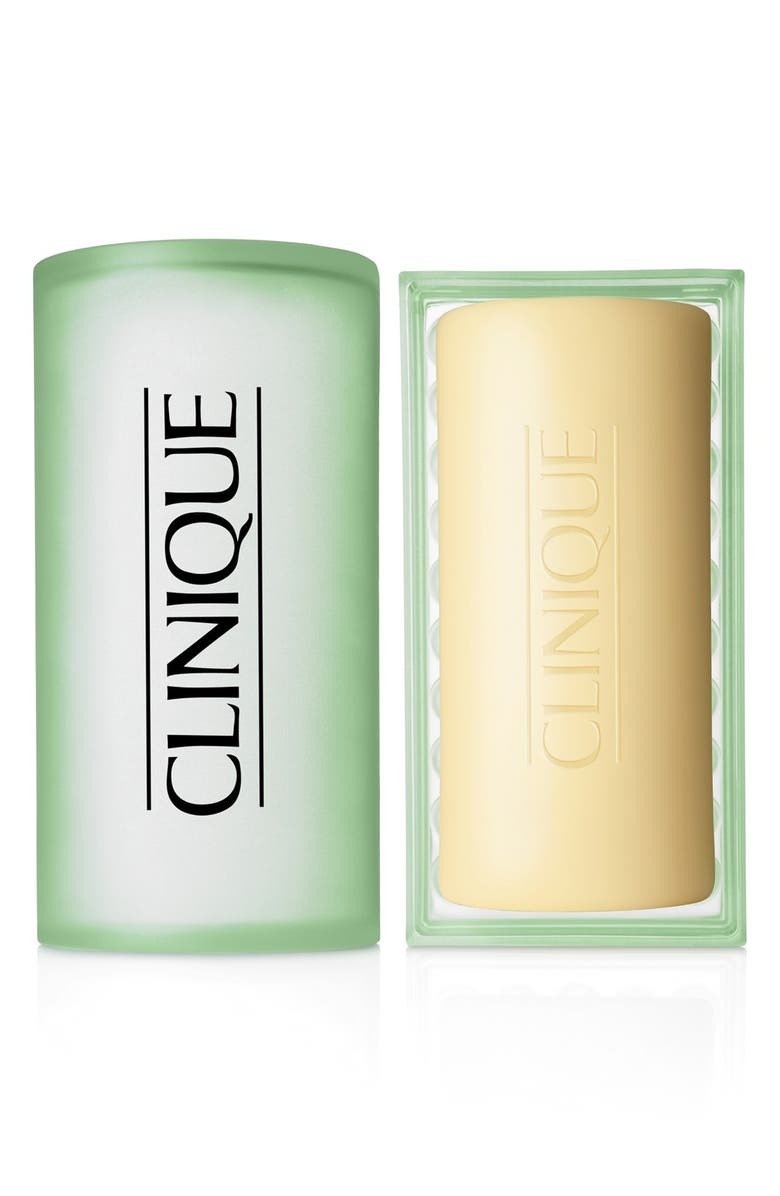 CLINIQUE Facial Soap with Dish, Main, color, MILD