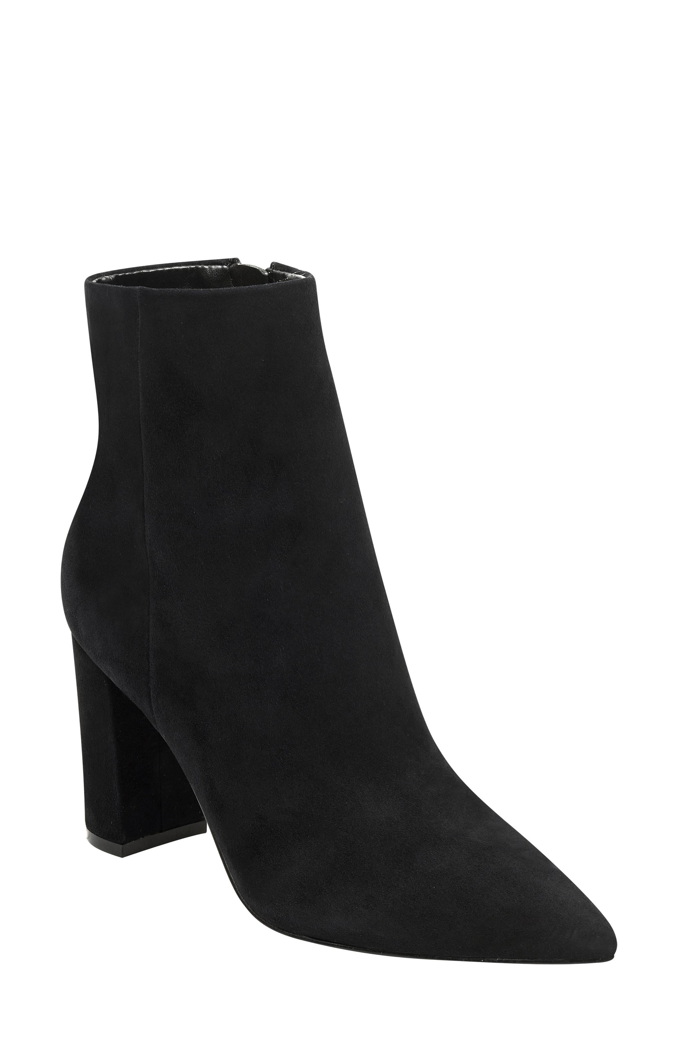 Marc Fisher Ltd. Ulani Pointy Toe Bootie- Black