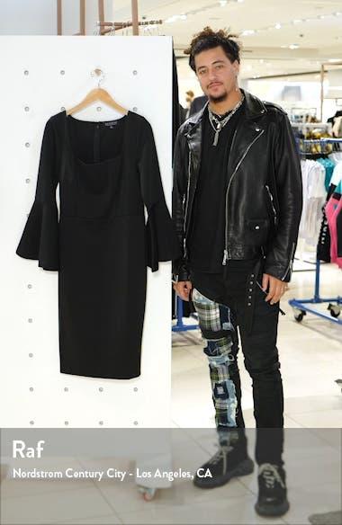 Long Sleeve Scuba Dress, sales video thumbnail