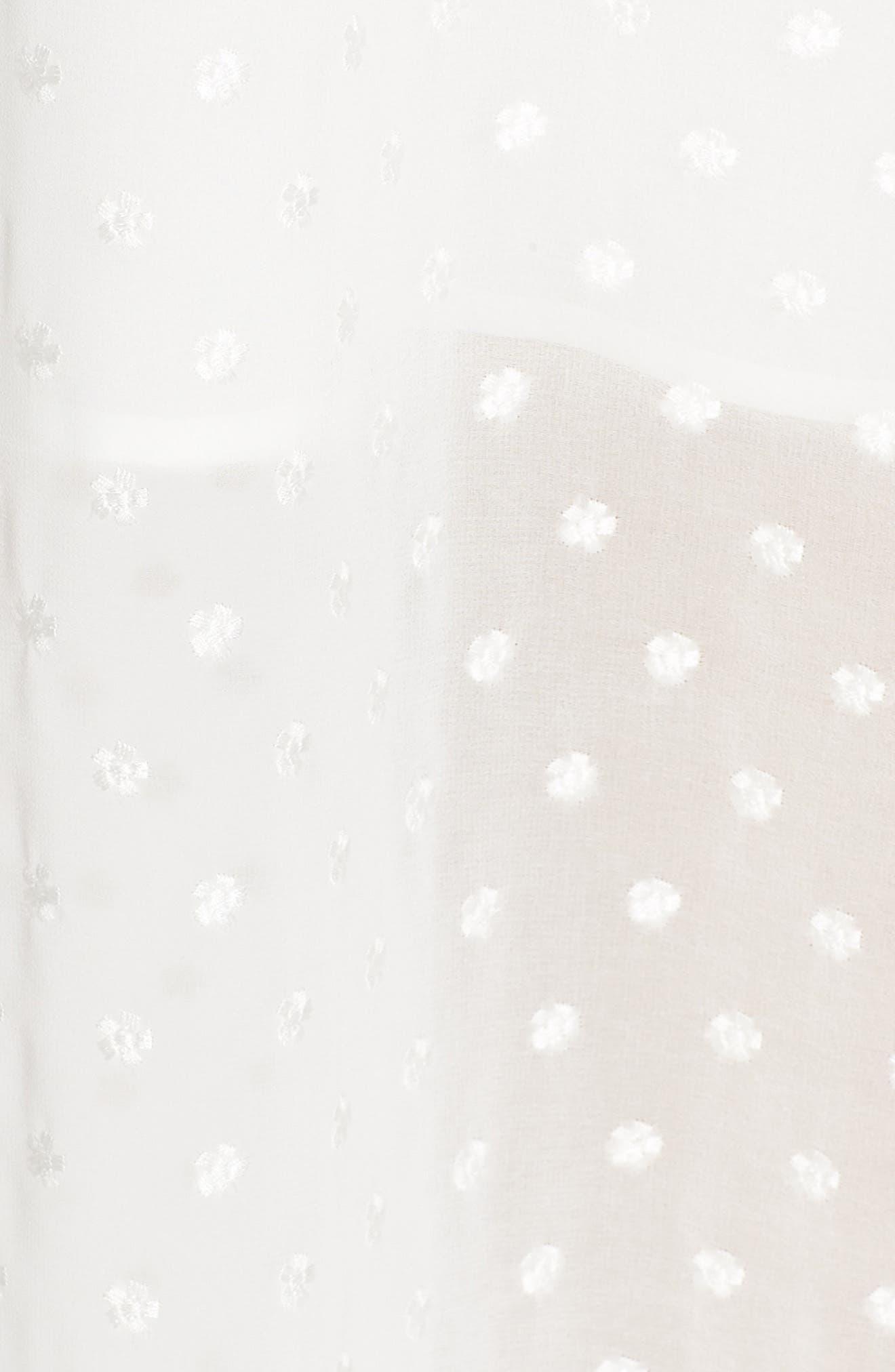 ,                             Isn't She Lovely Ruffle Midi Dress,                             Alternate thumbnail 6, color,                             104