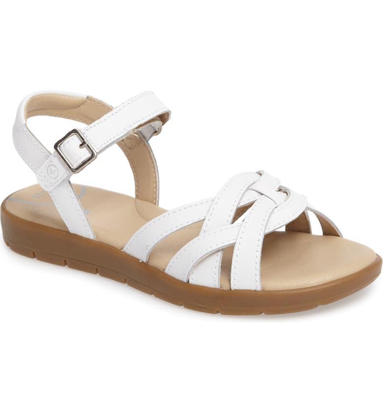 STRIDE RITE Millie Sandal, Main, color, WHITE