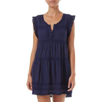 Melissa Odabash Rebekah Cover-Up Dress, Blue
