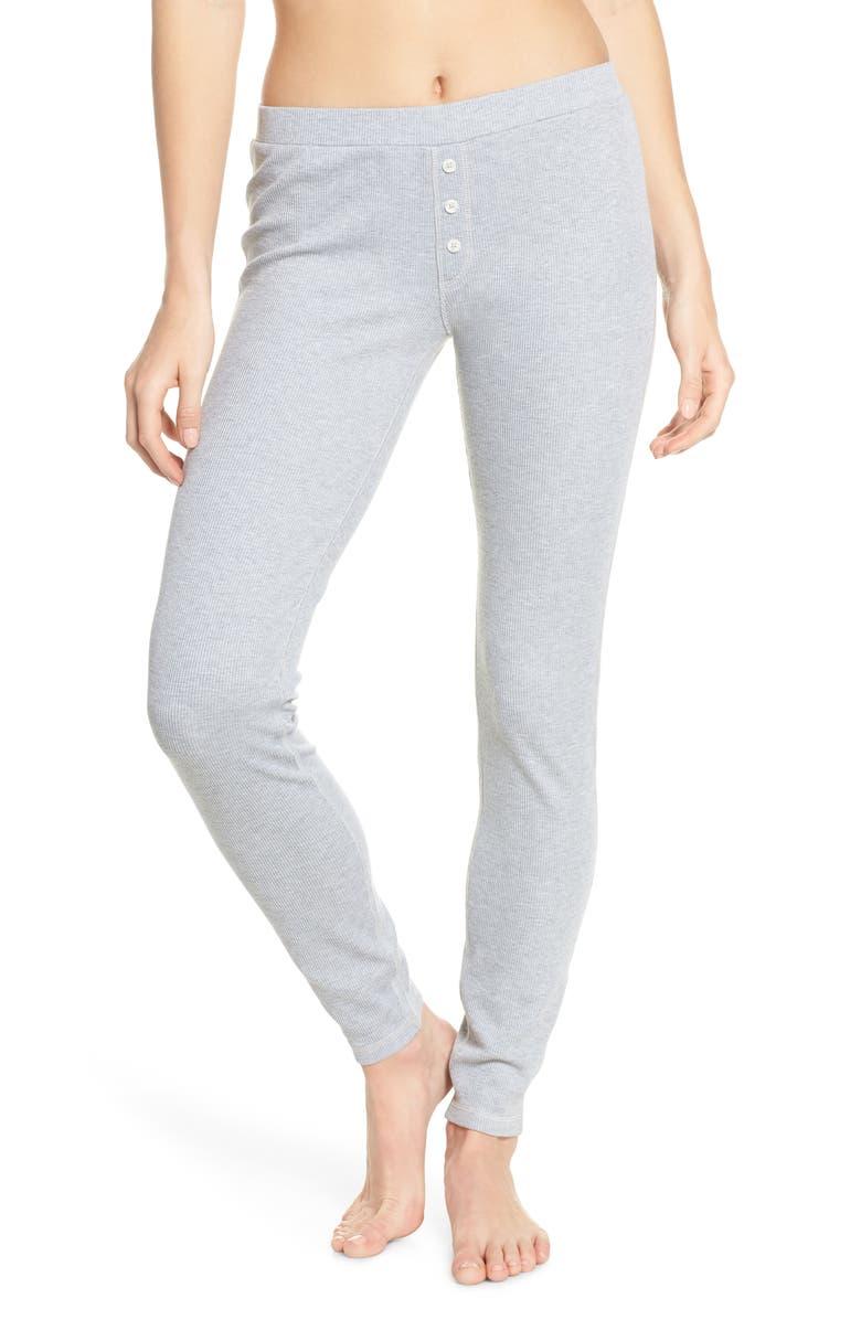 MADEWELL Bonito Waffle Knit Pajama Pants, Main, color, 020