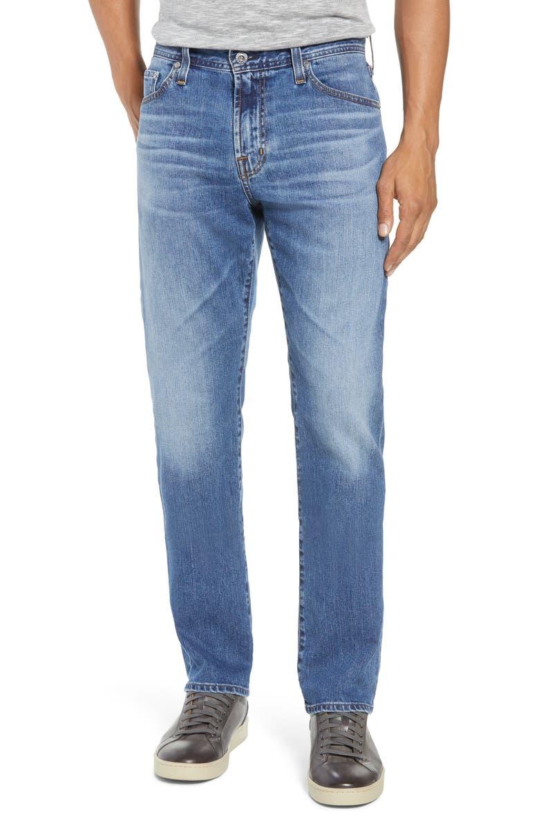 AG Everett Slim Straight Leg Jeans, Main, color, 456