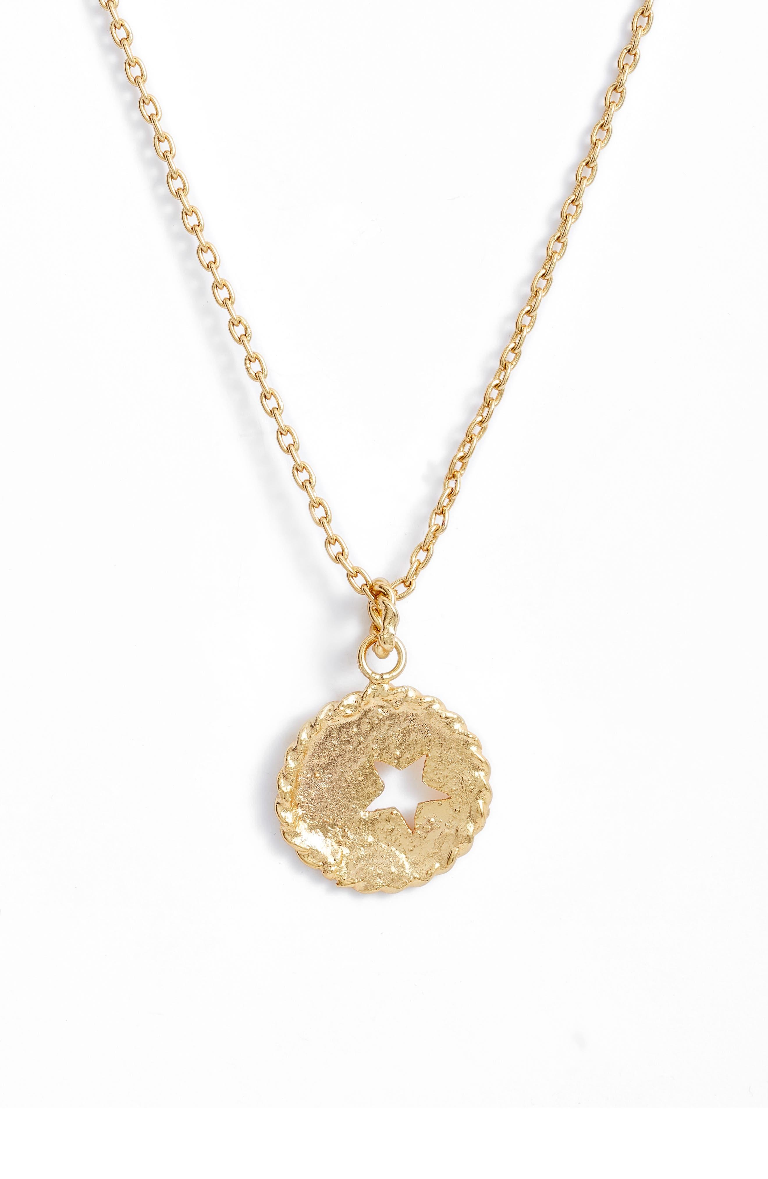 Caribe Moneda Estrella Pendant Necklace