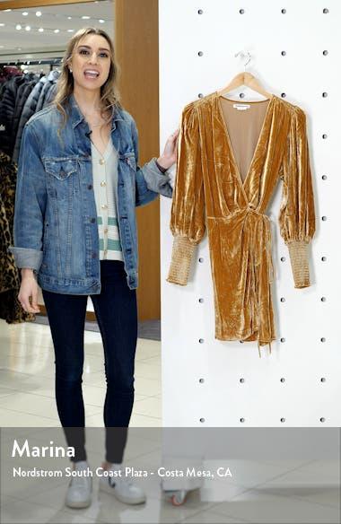 Boheme Long Sleeve Wrap Dress, sales video thumbnail