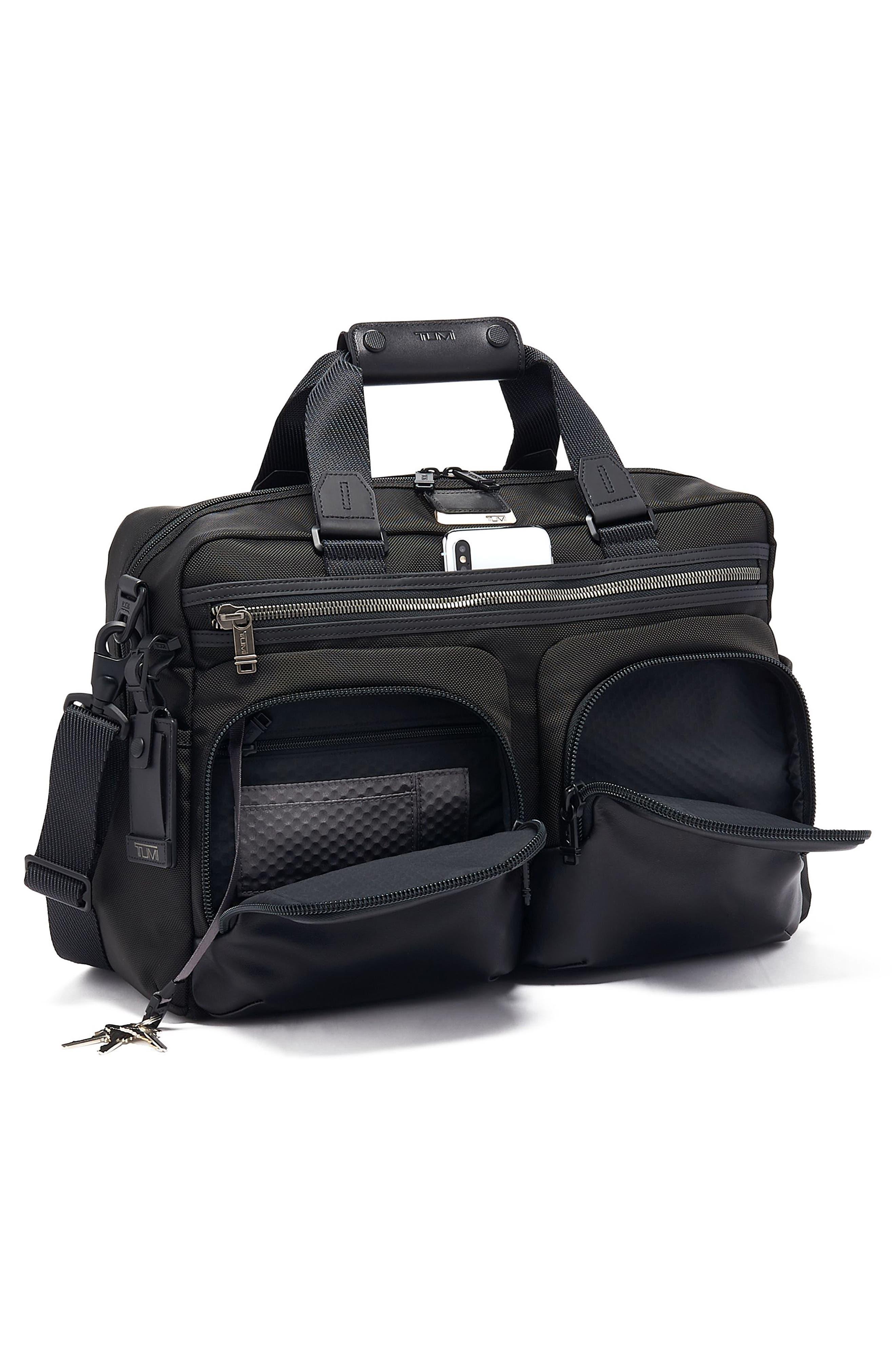 Tumi Bags Alpha Bravo Hunter Travel Satchel