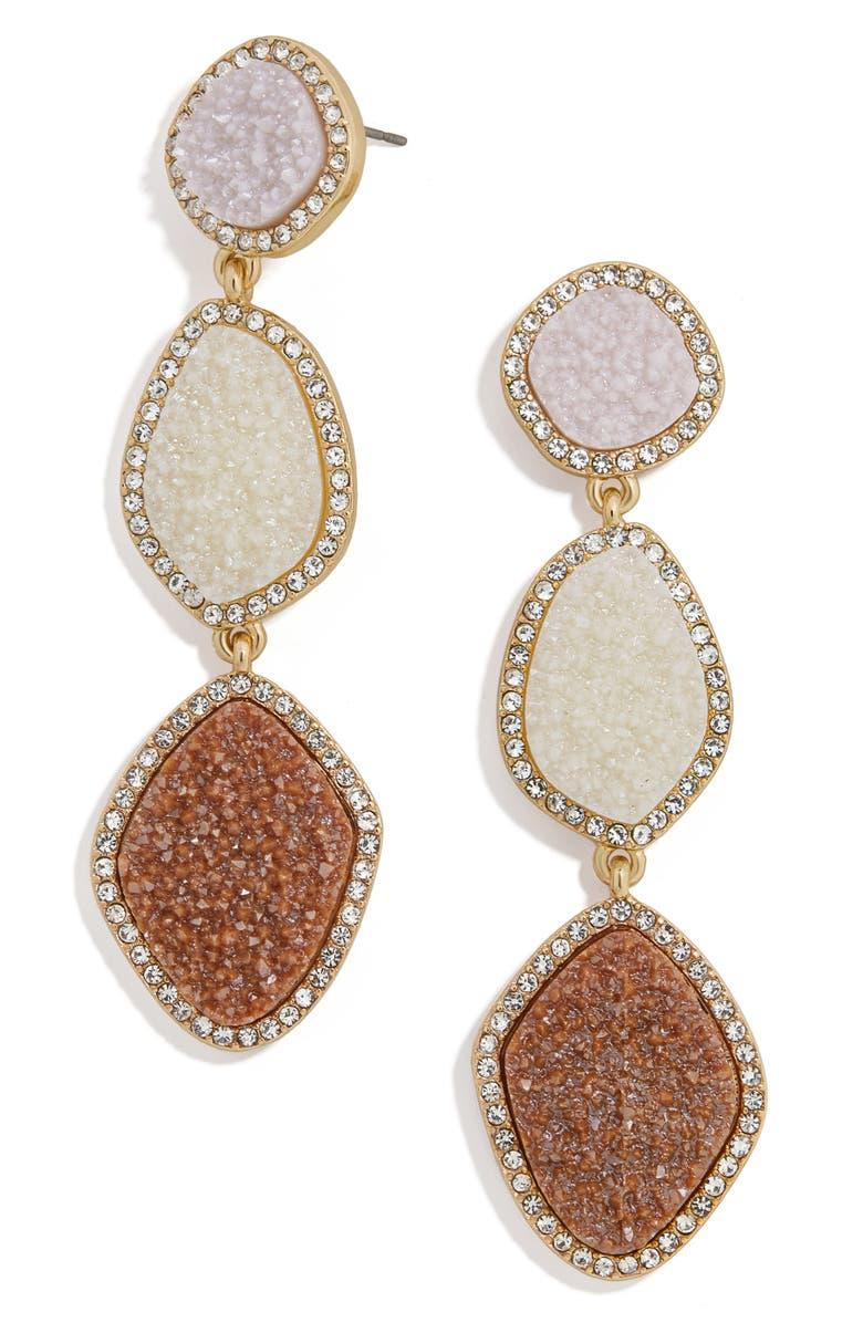 BAUBLEBAR Lyell Drop Earrings, Main, color, BLUSH