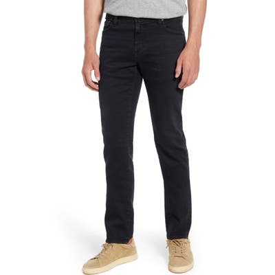 Ag Tellis Slim Fit Jeans, Black