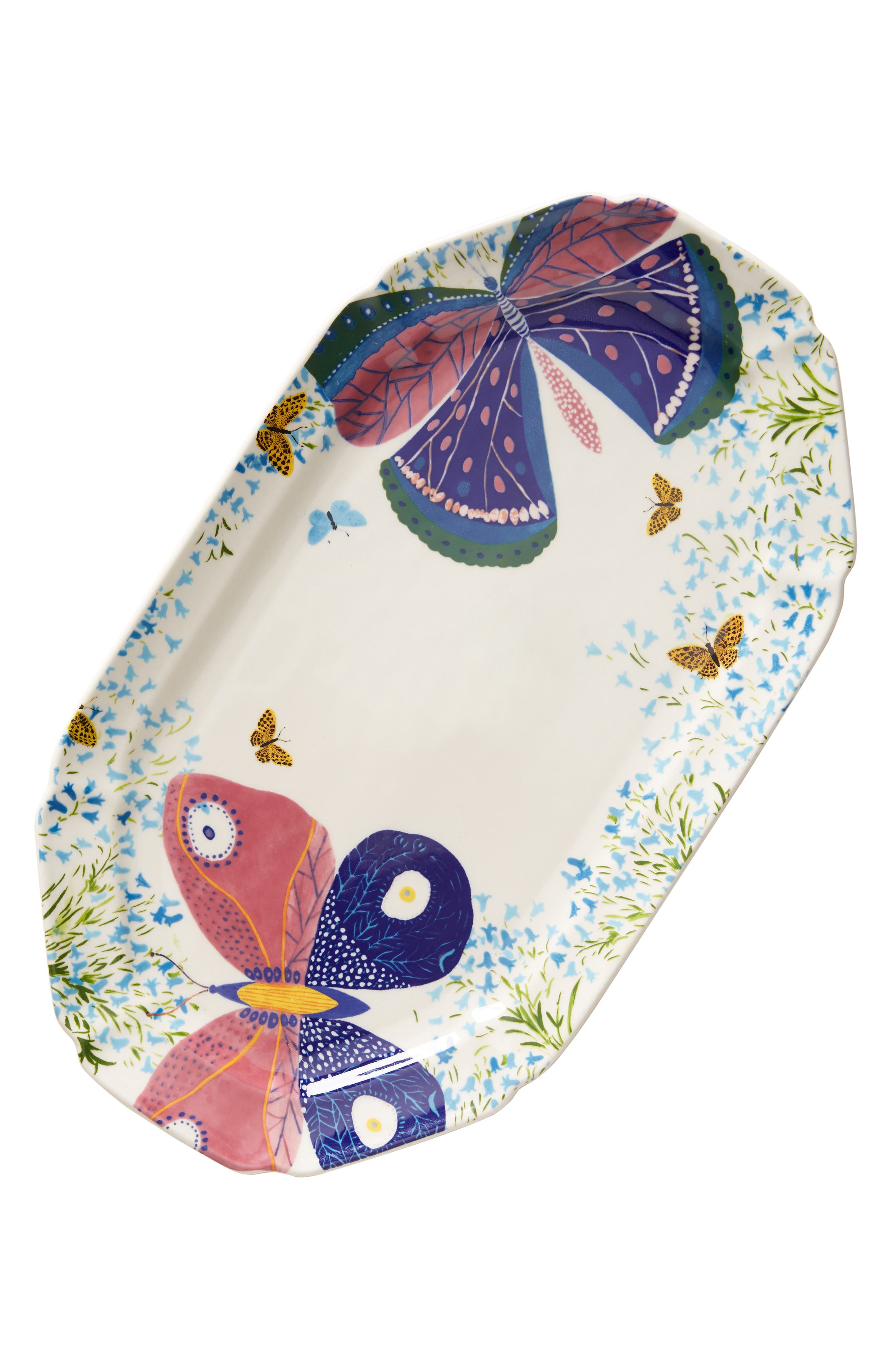 ,                             Paule Marrot Butterfly Platter,                             Alternate thumbnail 4, color,                             PURPLE