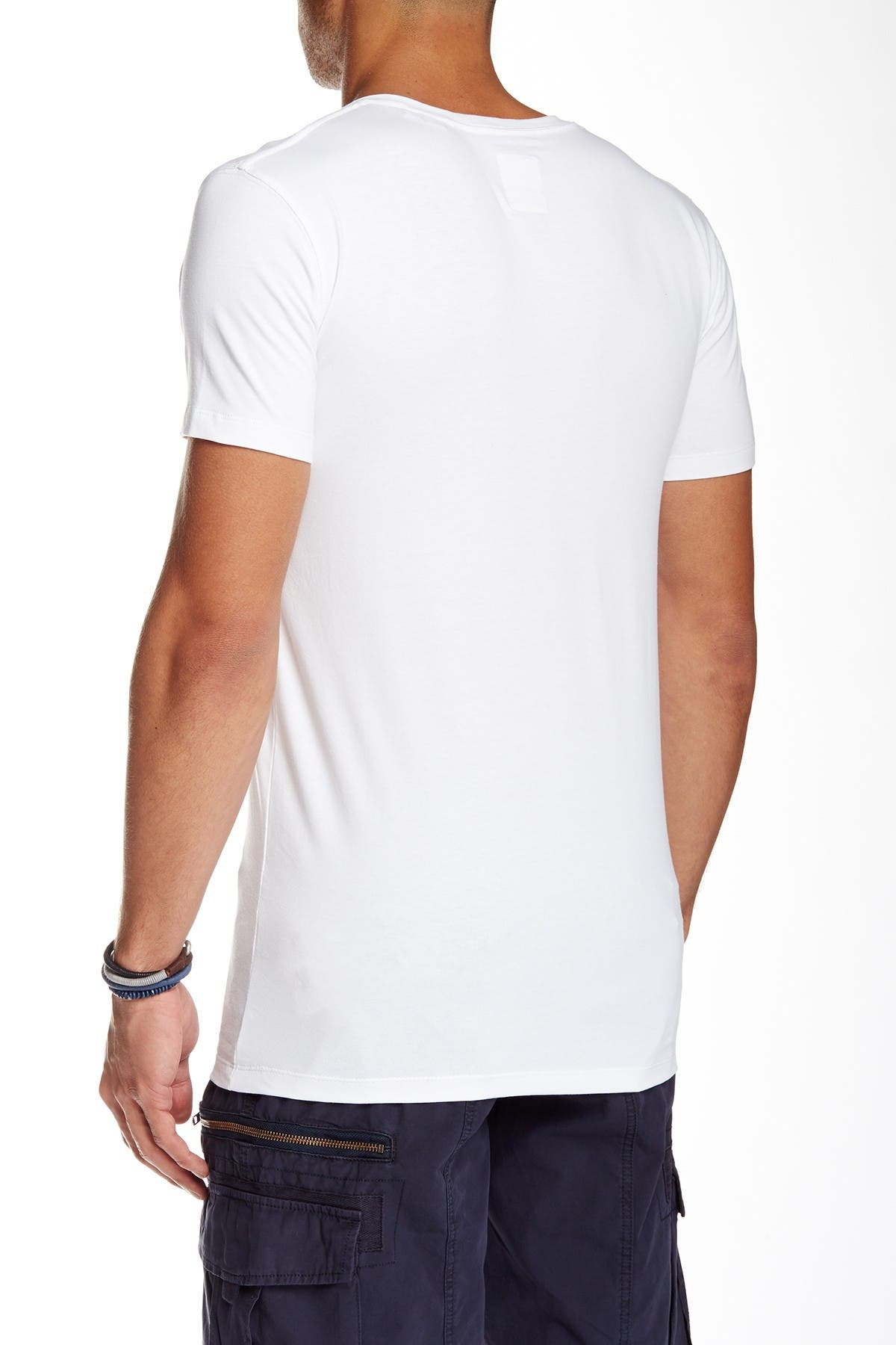 Lindbergh V-Neck Stretch T-Shirt