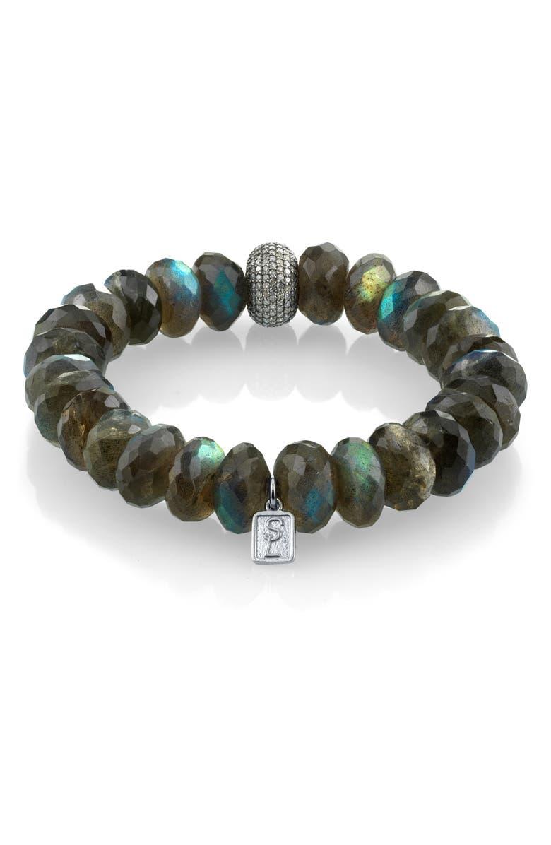 SHERYL LOWE Labradorite Mix Bracelet, Main, color, LABRADORITE MIX