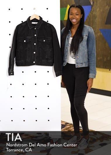 Boxy Crop Denim Jacket, sales video thumbnail
