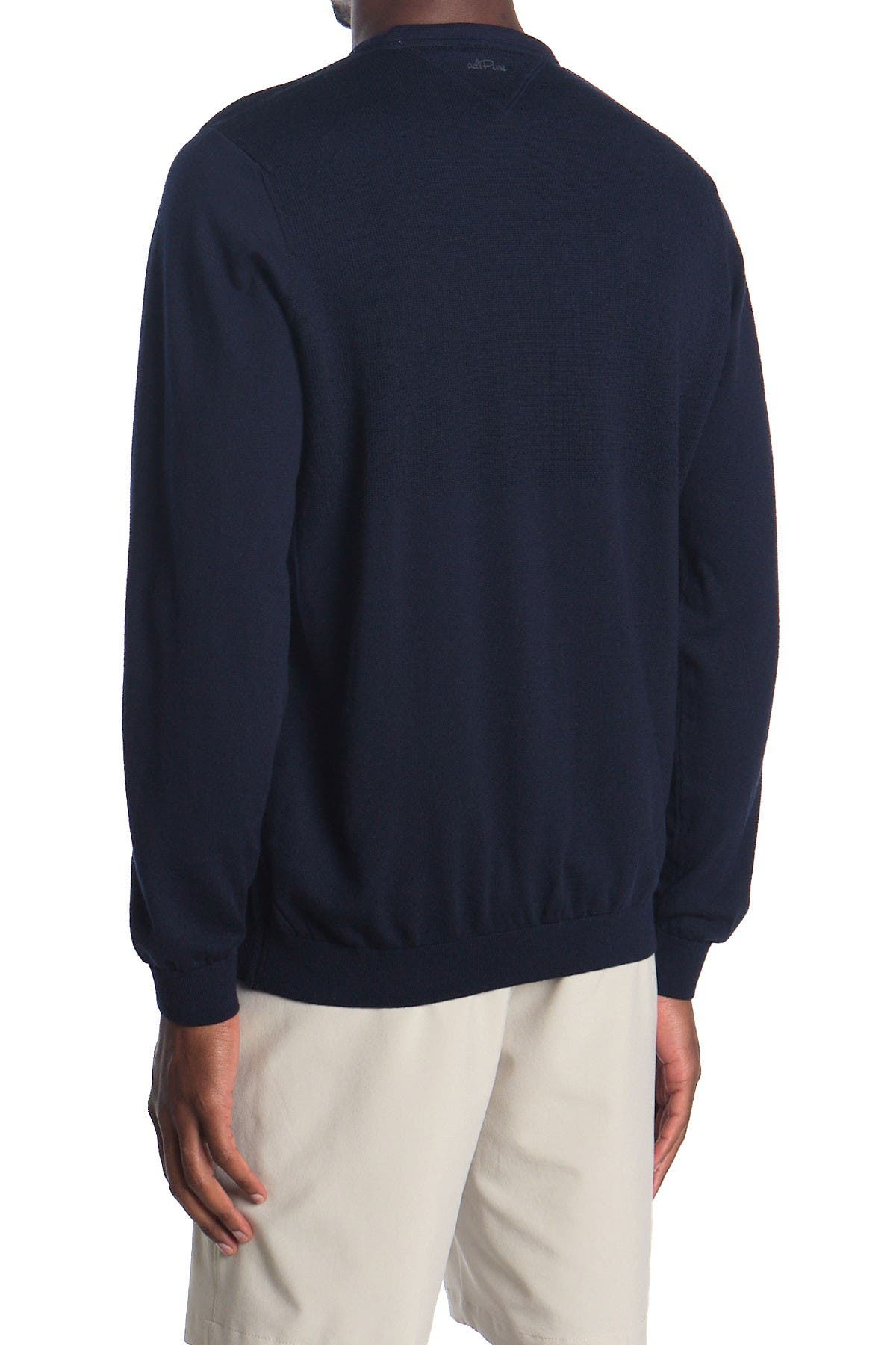 Adidas Adipure Refined V-Neck Golf Sweater