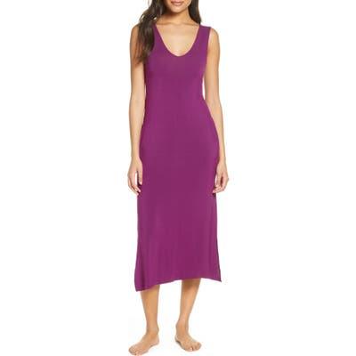 Nordstrom Moonlight Tank Nightgown, Purple