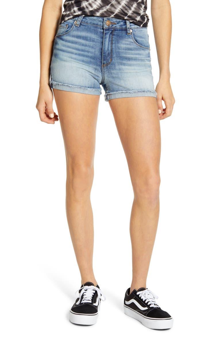 STS BLUE Molly Cuffed Shorts, Main, color, ASHFORD