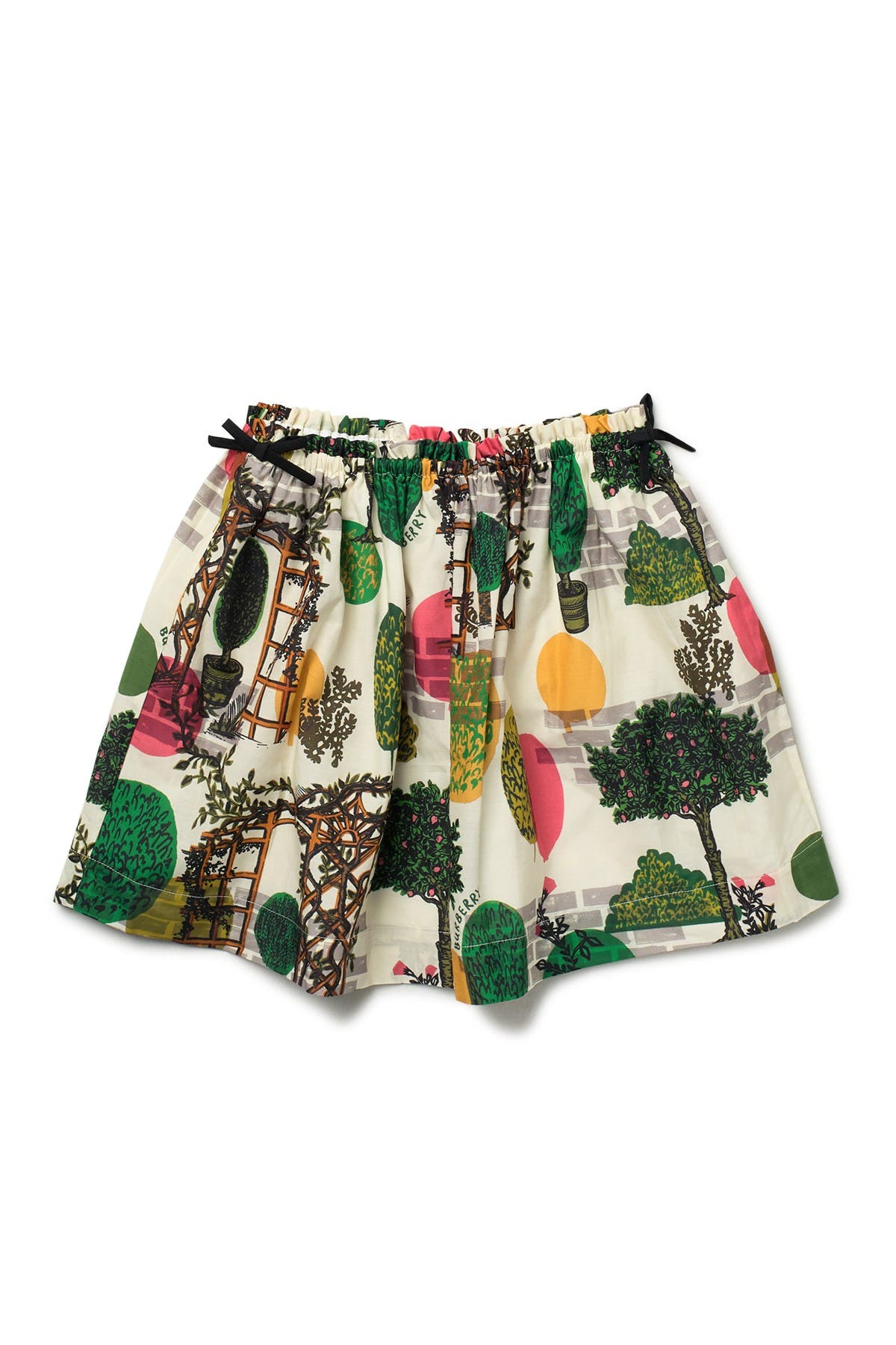 Image of Burberry Kendil Garden Skirt