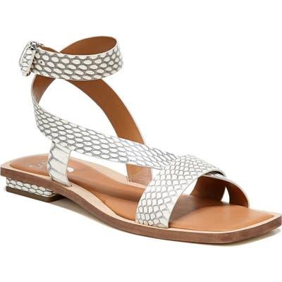 Sarto By Franco Sarto Ema Ankle Strap Sandal, Grey