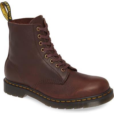 Dr. Martens Pascal Plain Toe Boot, Brown