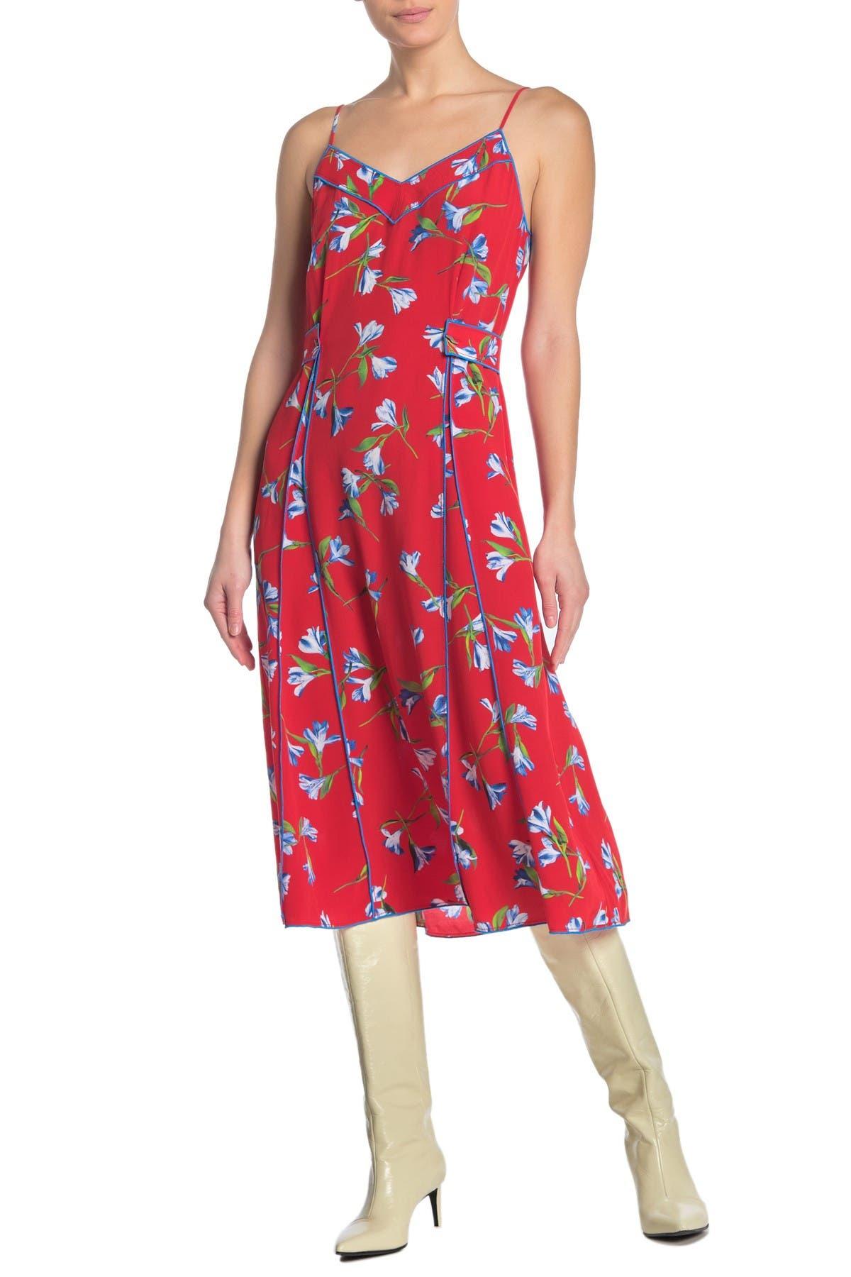 Image of Rag & Bone Hugo Floral Dress