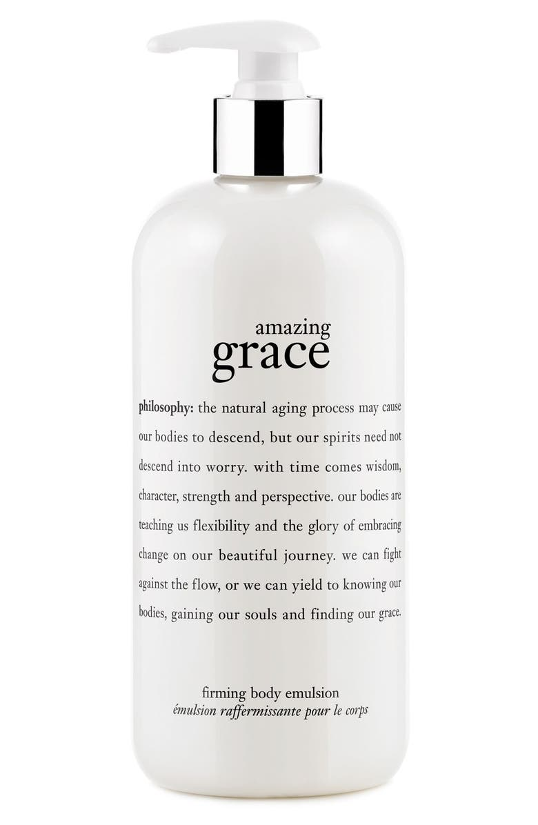 PHILOSOPHY 'amazing grace' firming body emulsion, Main, color, NO COLOR