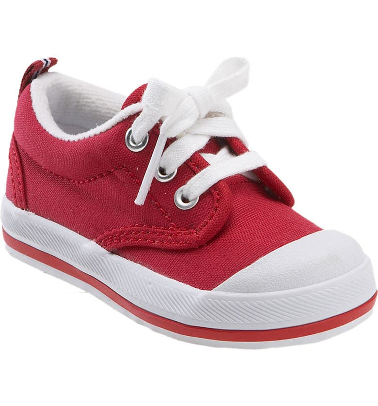 KEDS<SUP>®</SUP> 'Graham' Lace-Up Sneaker, Main, color, RED CANVAS