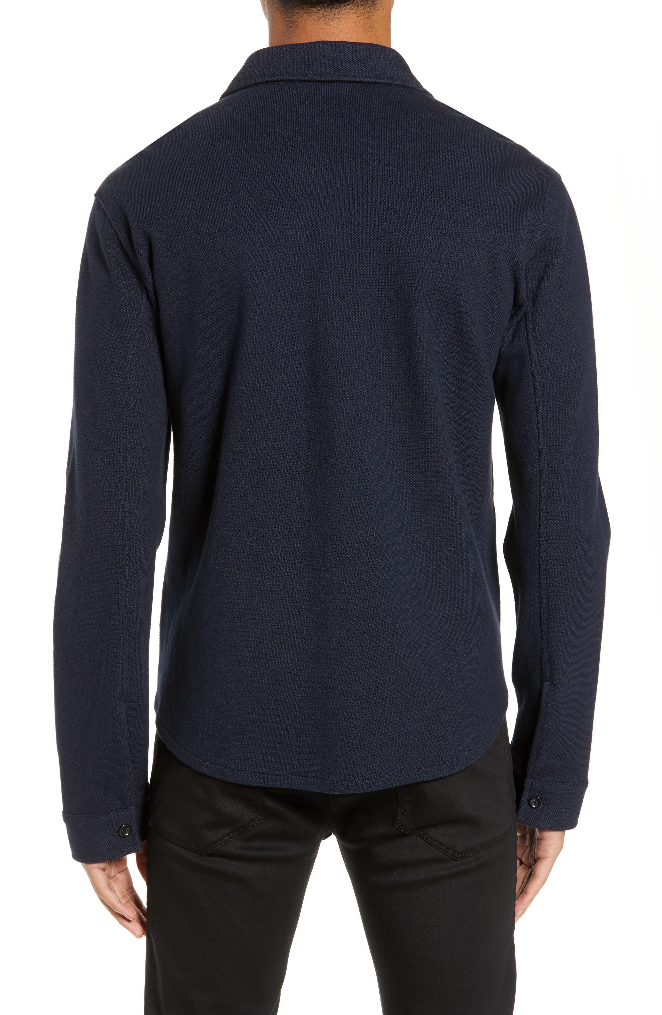 ,                             Slim Fit Shirt Jacket,                             Alternate thumbnail 2, color,                             COASTAL