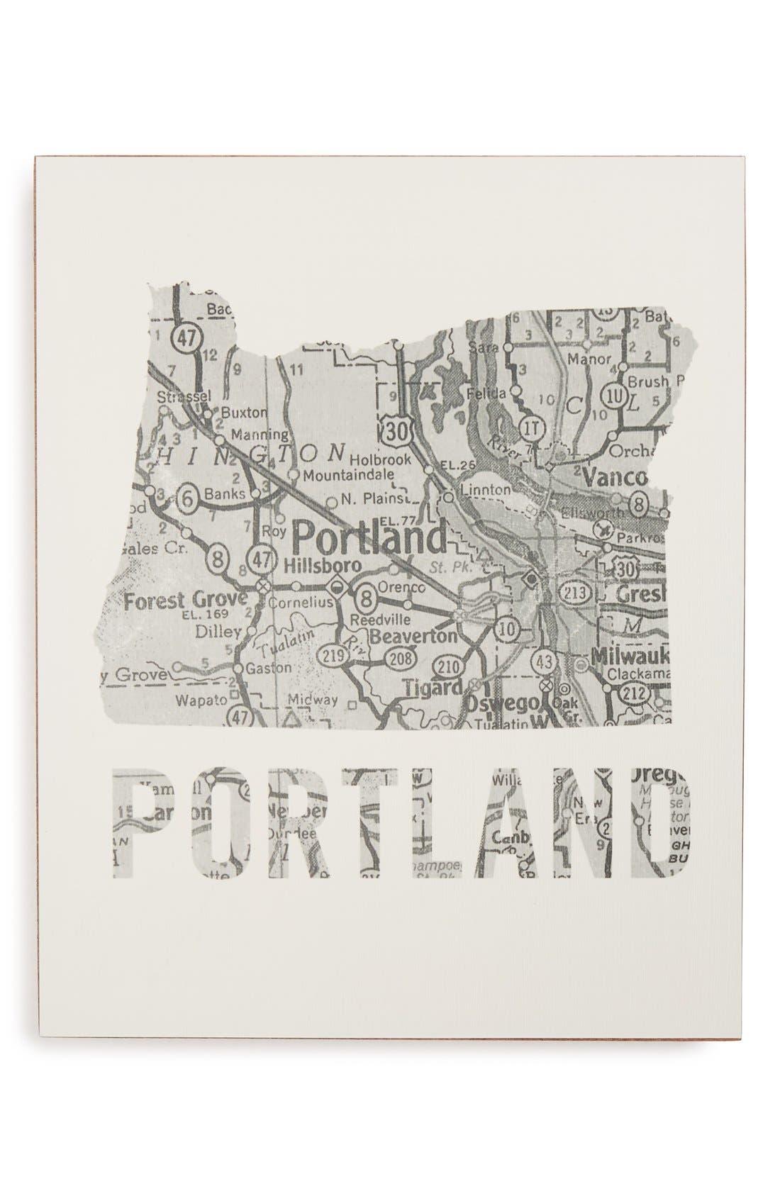 ,                             City Map Wall Art,                             Main thumbnail 29, color,                             046
