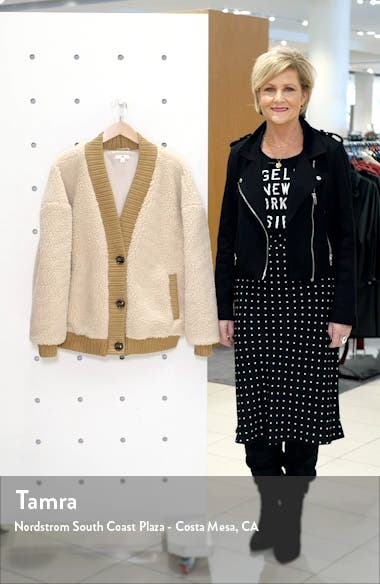 Teddy Cardigan Coat, sales video thumbnail