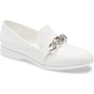 Calvin Klein Banda Chain Loafer, White