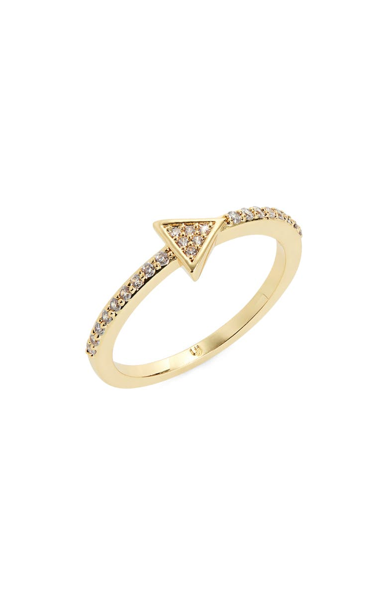 UNCOMMON JAMES BY KRISTIN CAVALLARI Canal Street Crystal Ring, Main, color, GOLD