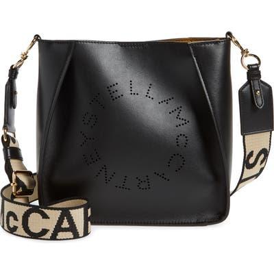 Stella Mccartney Eco Mini Faux Leather Crossbody Bag - Black