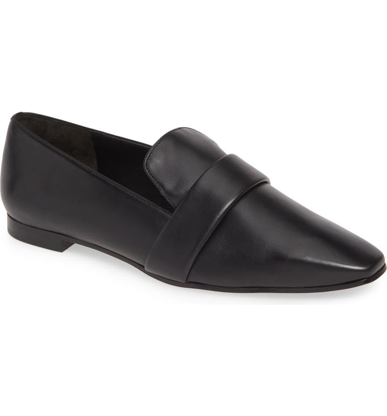 VIA SPIGA Adaline Loafer, Main, color, BLACK